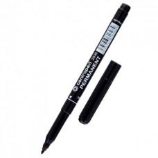 Маркер черный тонкий (12шт/уп) ПТ-4805