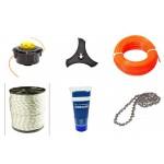 Комплектующие и расходные материалы на бензоинструмент