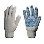 Перчатки трикотажные и хлопчатобумажные
